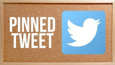 pin tweet