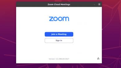 zoom ubuntu